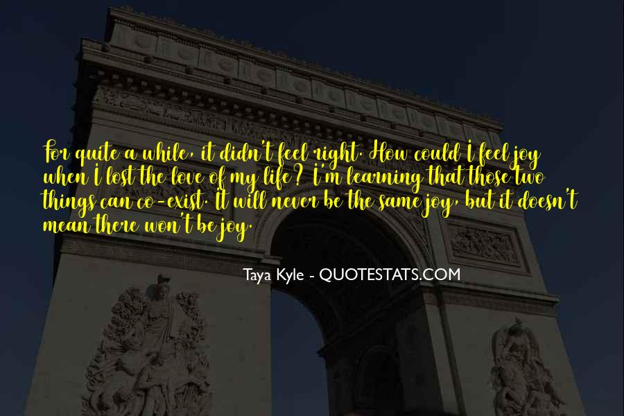 I Will Be There Love Quotes #1105924