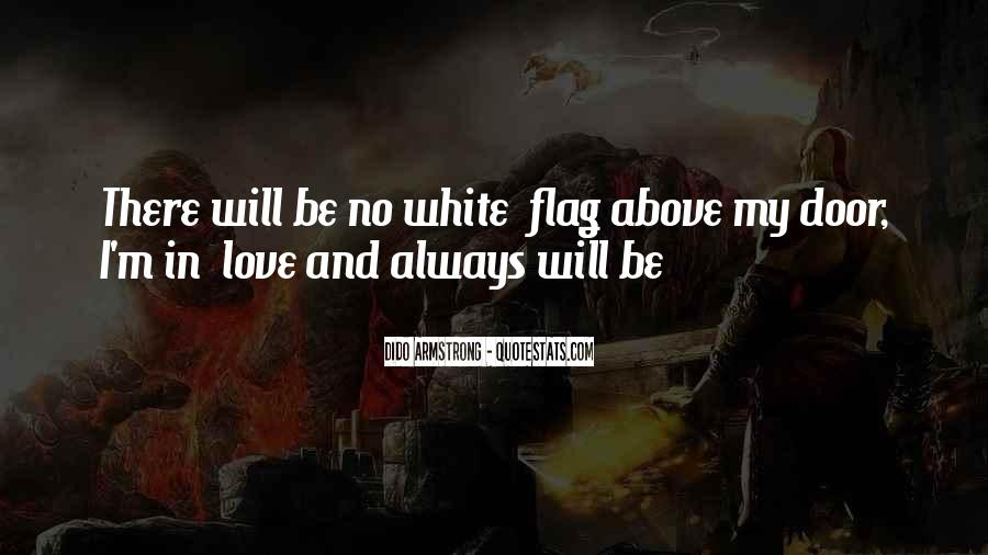 I Will Be There Love Quotes #205279