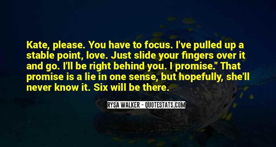 I Will Be There Love Quotes #593670
