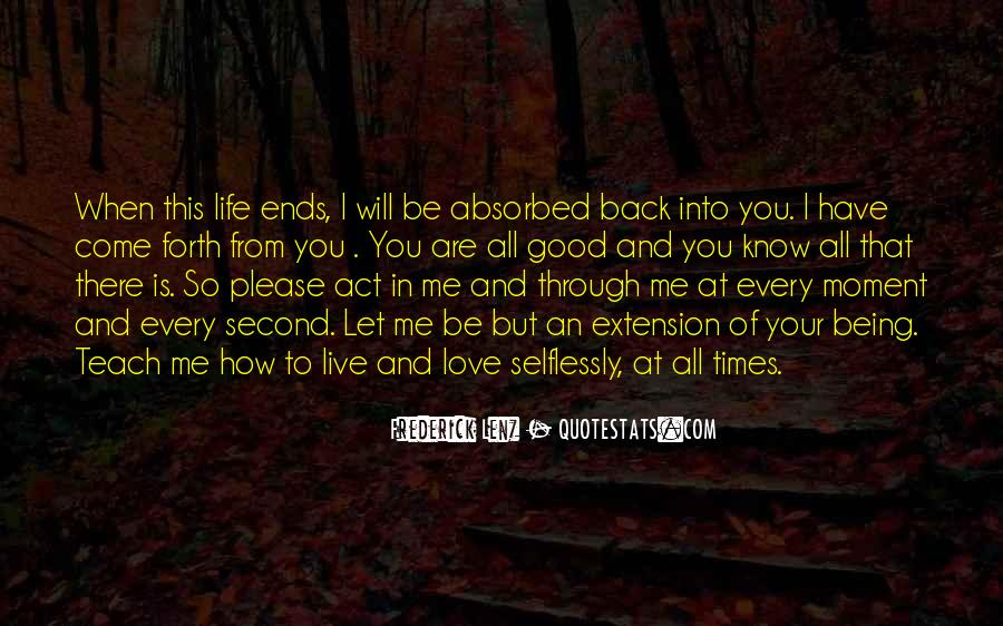 I Will Be There Love Quotes #769336