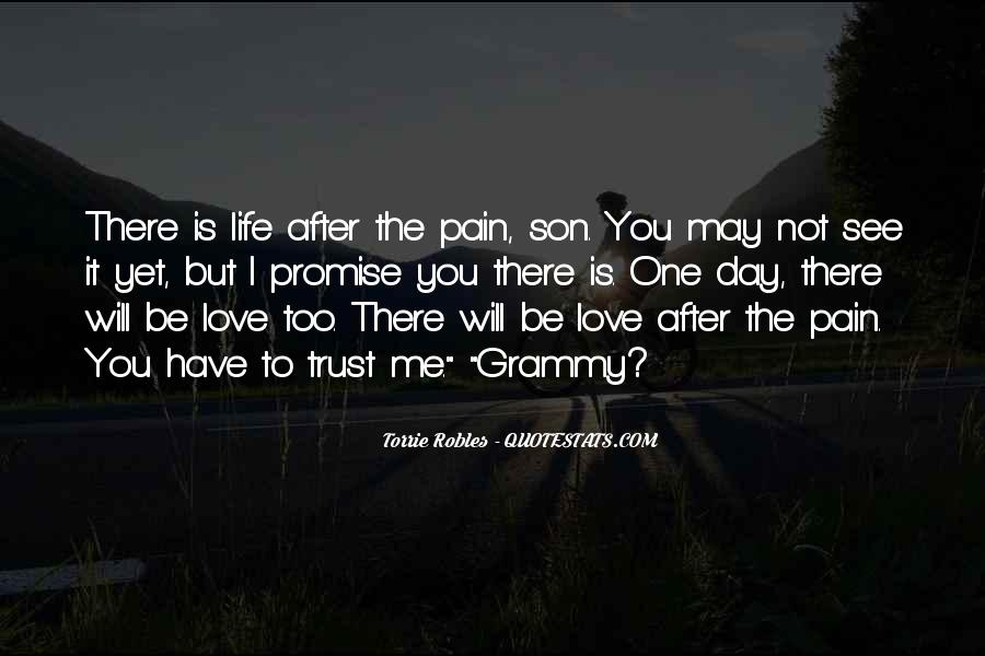 I Will Be There Love Quotes #893453
