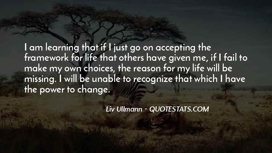 I Will Change My Life Quotes #1647364