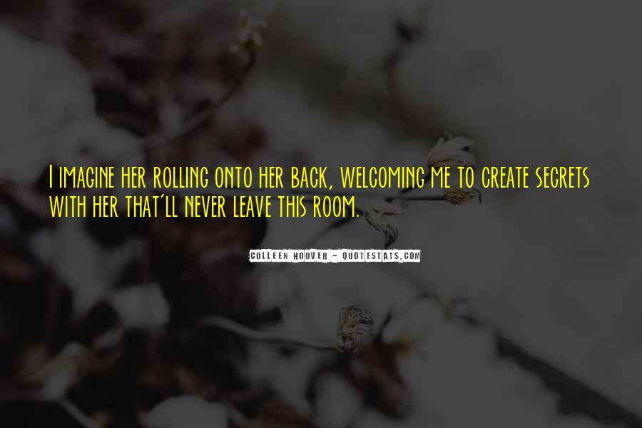 I Will Come Back Again Quotes #2833