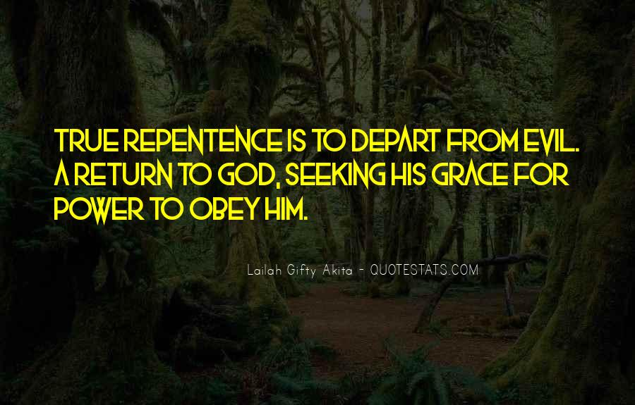 I Will Depart Quotes #113615