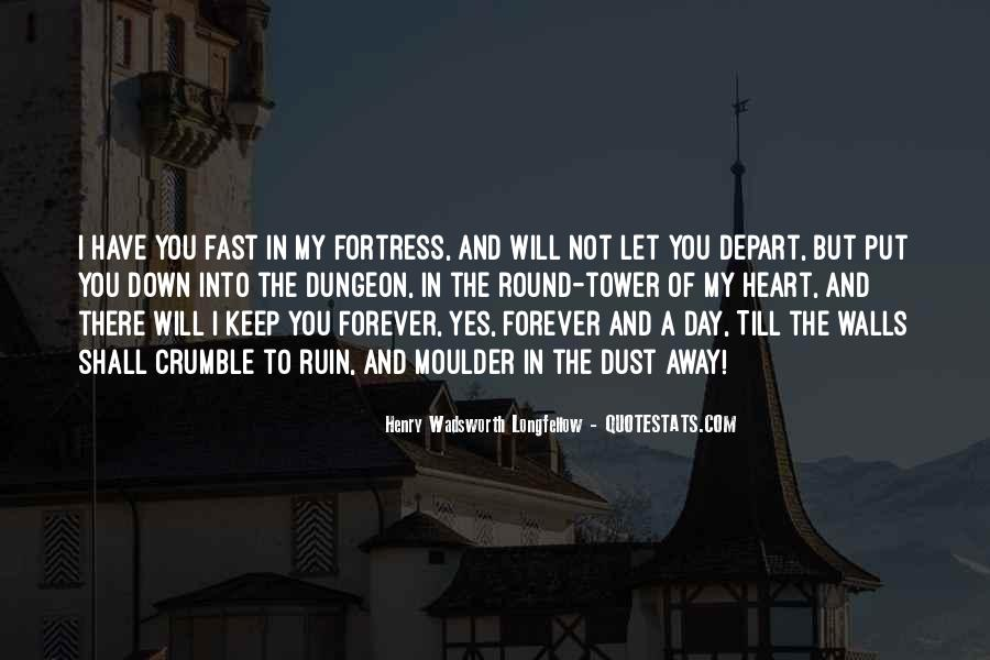 I Will Depart Quotes #1784344