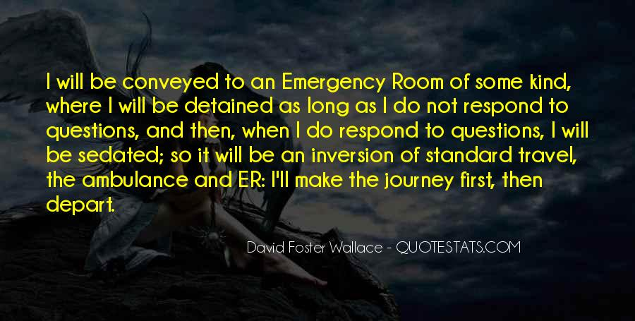 I Will Depart Quotes #330259