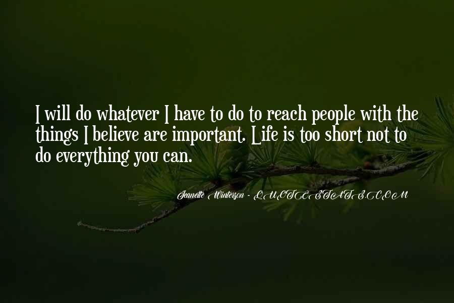 I Will Do Everything Quotes #268822