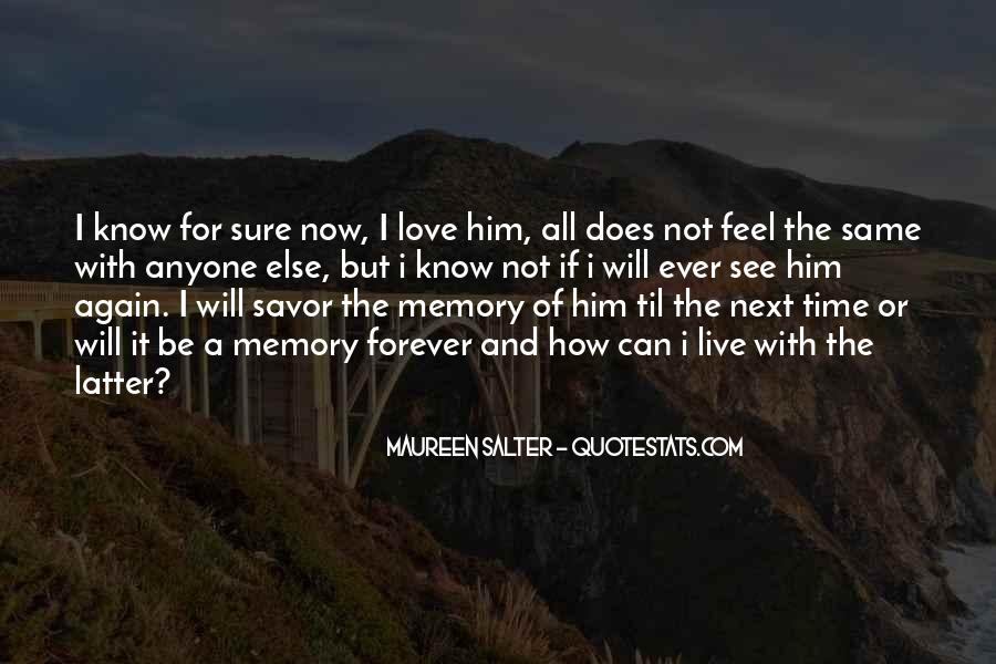 I Will Love Him Forever Quotes #1693376
