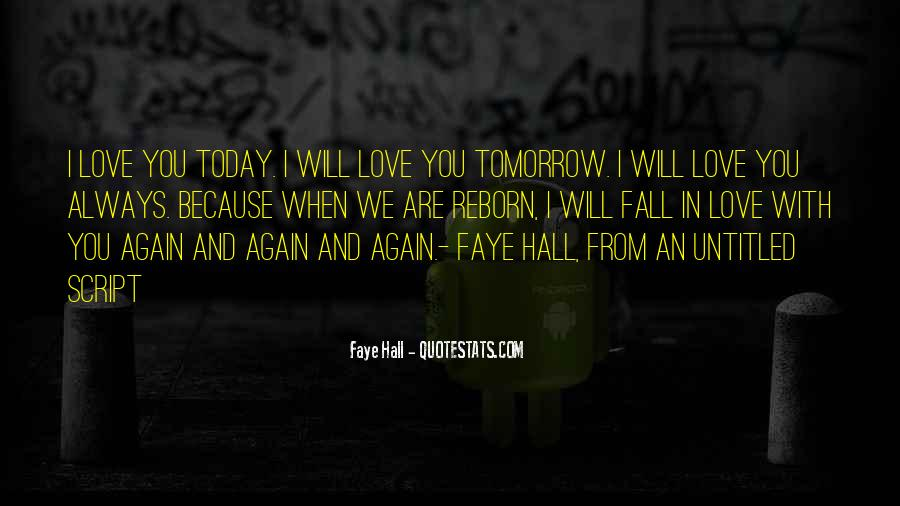 I Will Love Him Forever Quotes #3379