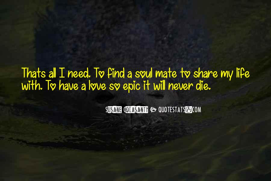I Will Love You Until I Die Quotes #30816