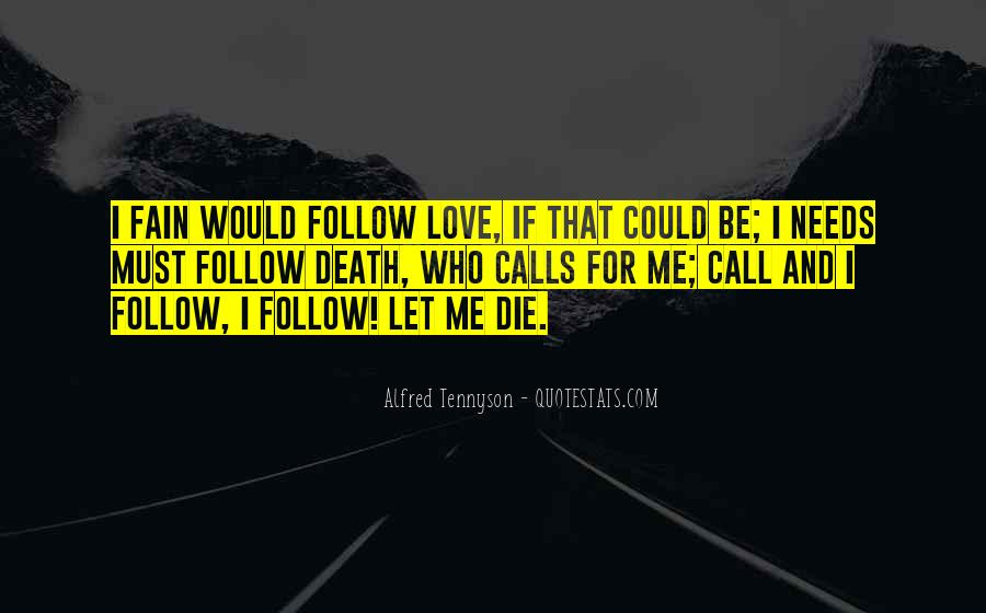 I Will Love You Until I Die Quotes #36572