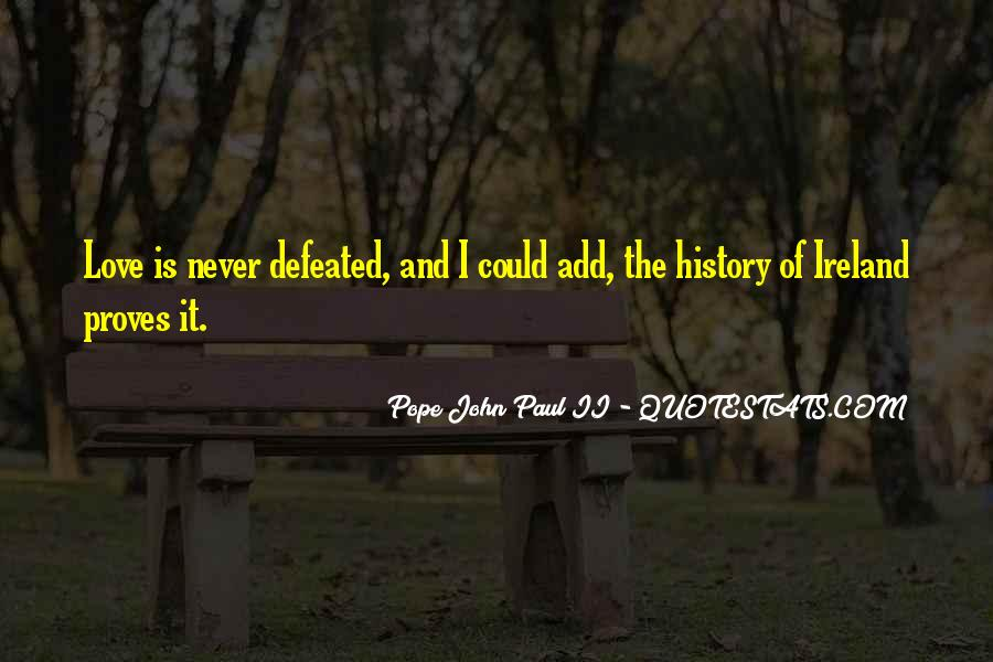 I Will Never Be Defeated Quotes #116546