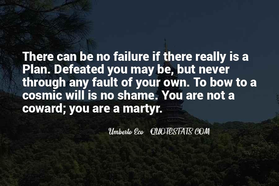I Will Never Be Defeated Quotes #60277