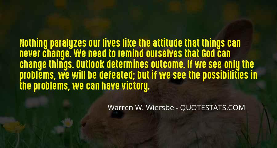 I Will Never Be Defeated Quotes #643796