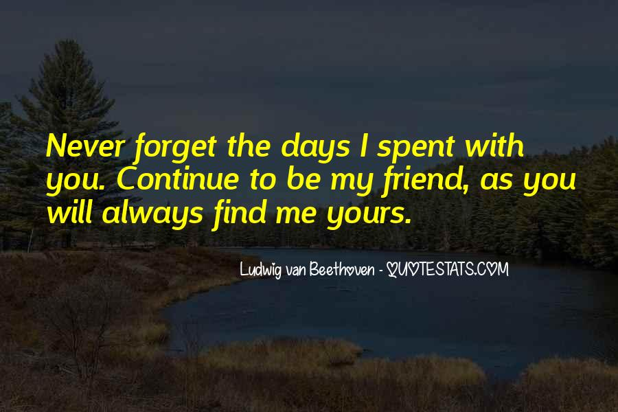 I Will Never Forget You Friend Quotes #871705