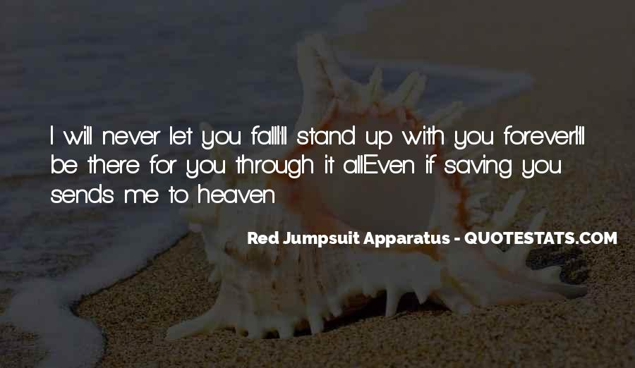 I Will Never Let You Fall Quotes #45210