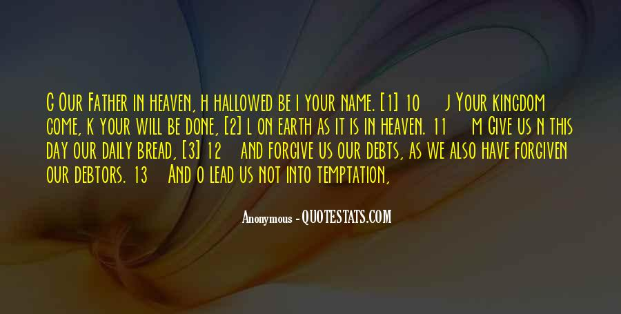 I Will Not Forgive Quotes #1311833