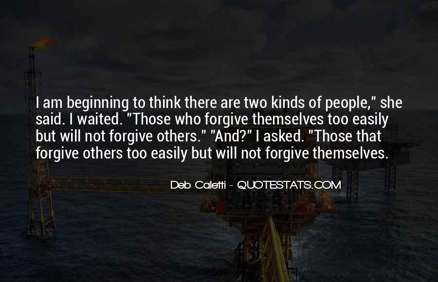 I Will Not Forgive Quotes #23872
