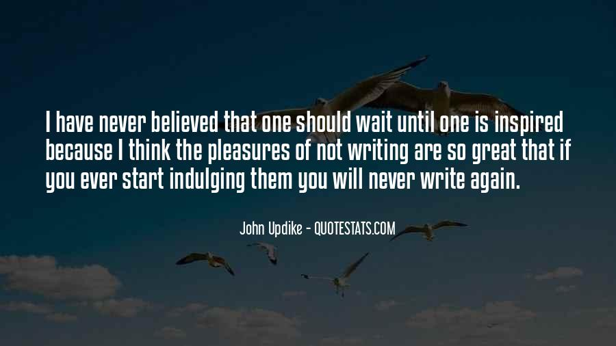 I Will Not Wait Quotes #1648340