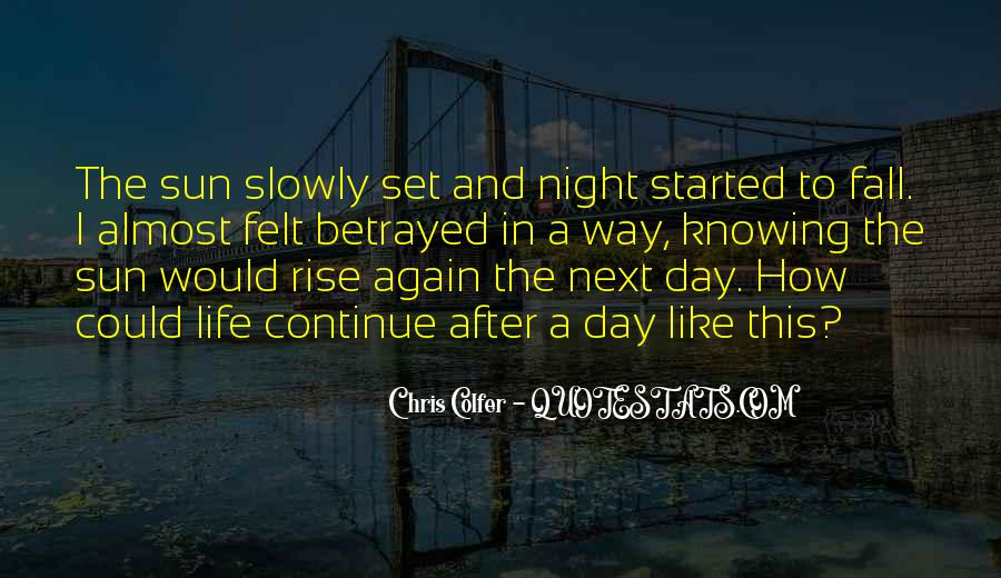 I Will Rise Again Quotes #133009