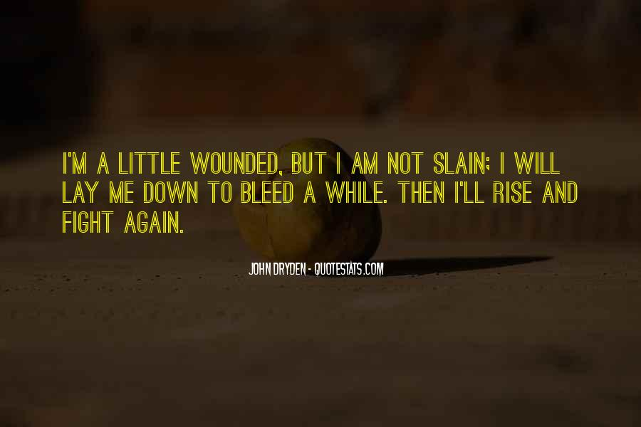 I Will Rise Again Quotes #1870197