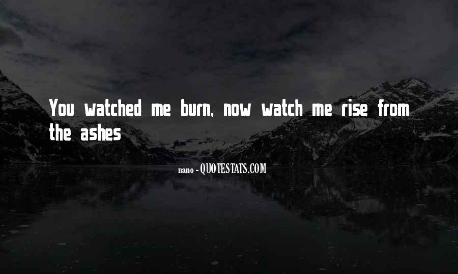 I Will Rise From The Ashes Quotes #1063122
