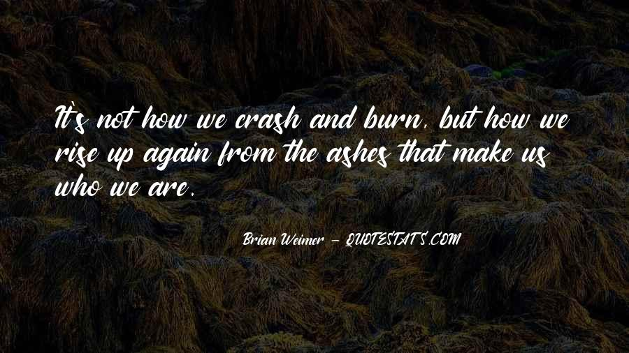I Will Rise From The Ashes Quotes #737668
