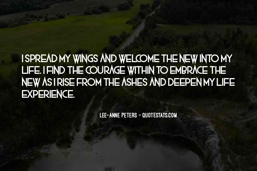 I Will Rise From The Ashes Quotes #93426
