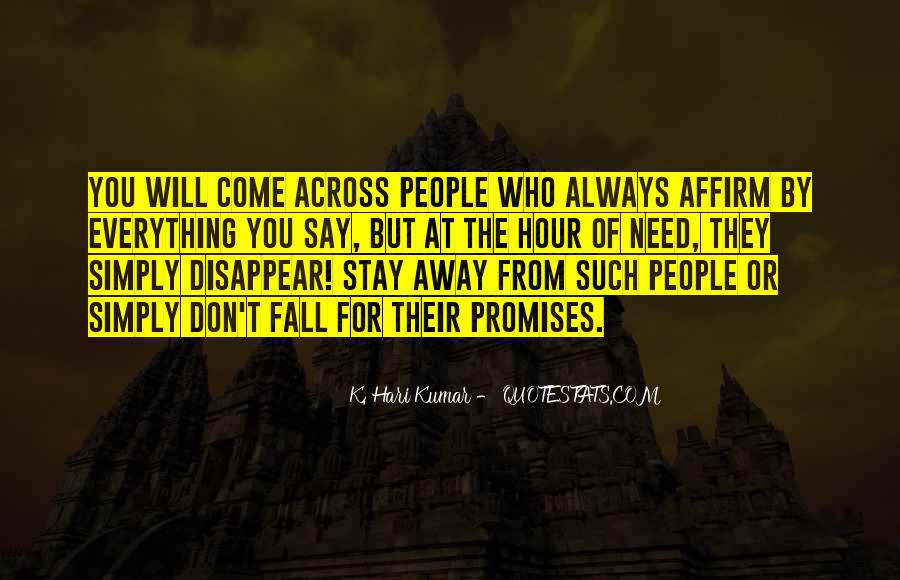 I Will Stay Away From You Quotes #52581