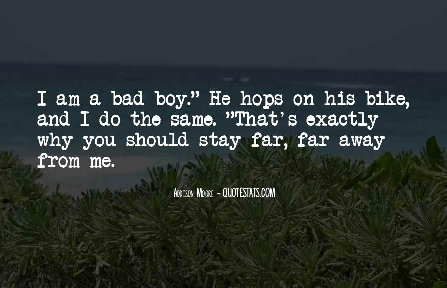 I Will Stay Away From You Quotes #74648
