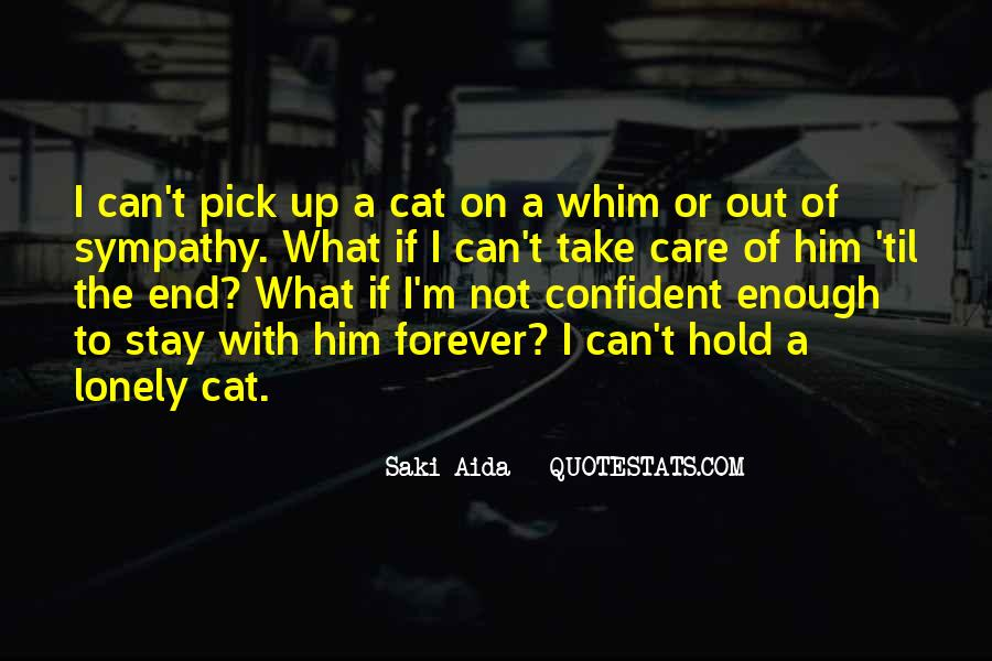 I Will Take Care Of You Forever Quotes #1840424