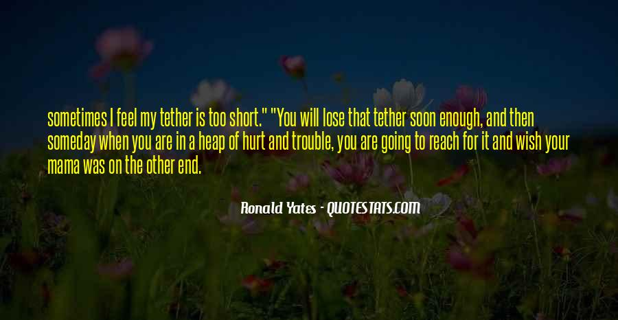 I Wish Someday Quotes #773770