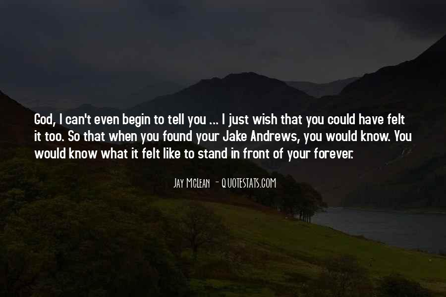 I Wish You Could Quotes #96814