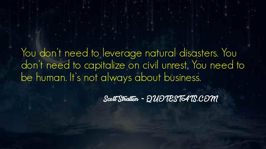 I Won't Disturb Quotes #172123
