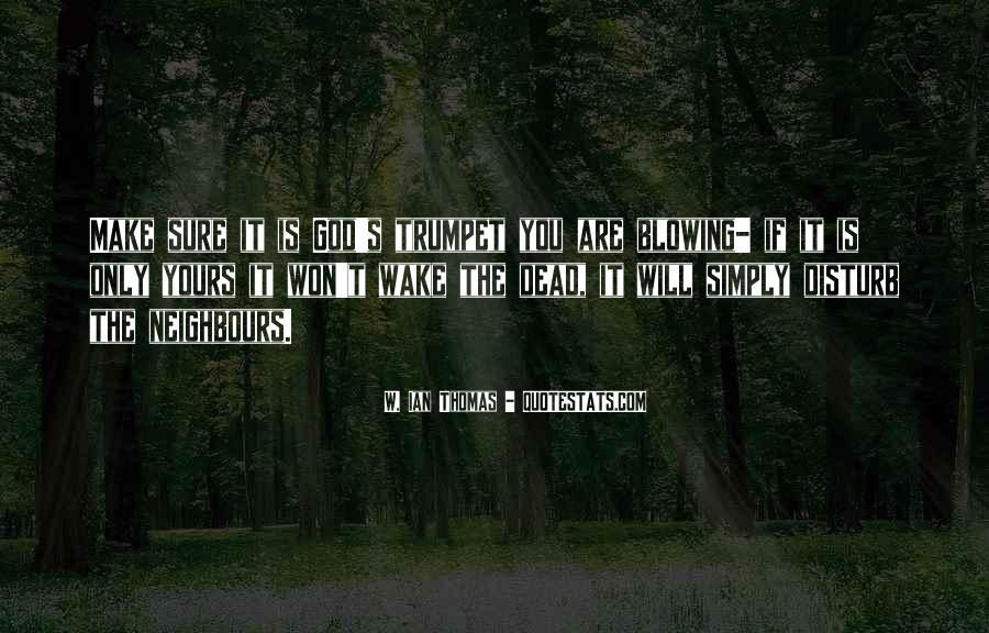 I Won't Disturb Quotes #326382