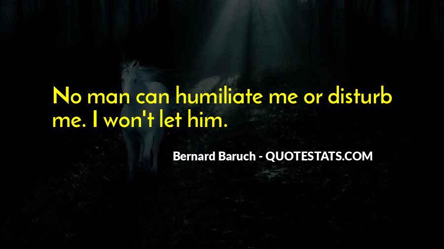 I Won't Disturb Quotes #485469