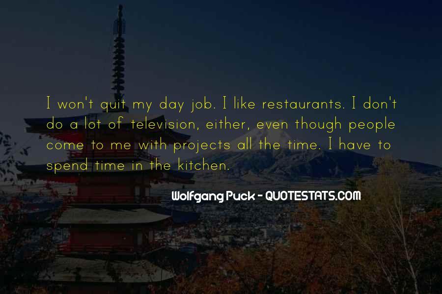 I Won't Quit Quotes #1739781
