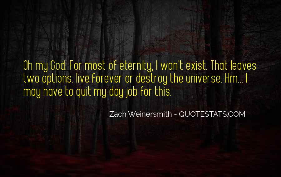I Won't Quit Quotes #2409