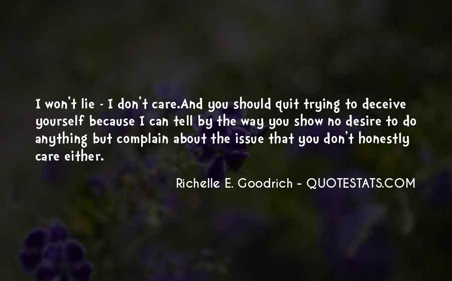 I Won't Quit Quotes #652674