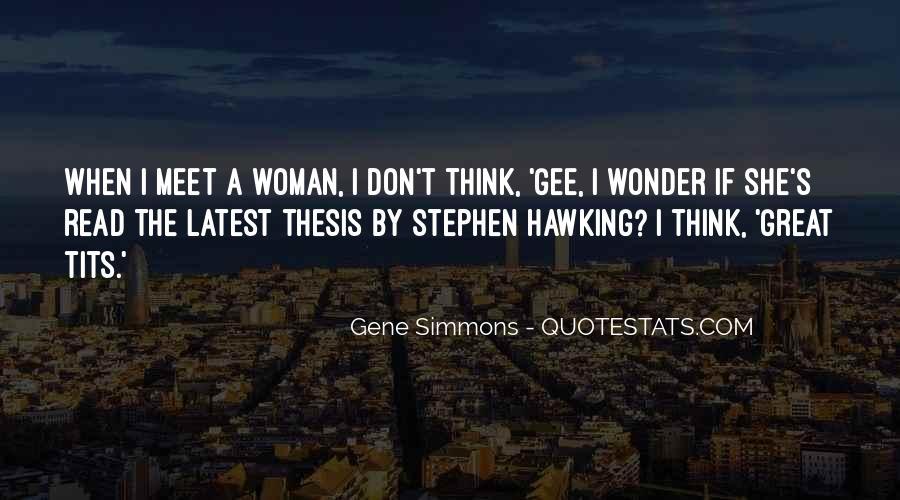 I Wonder If She Quotes #1029844