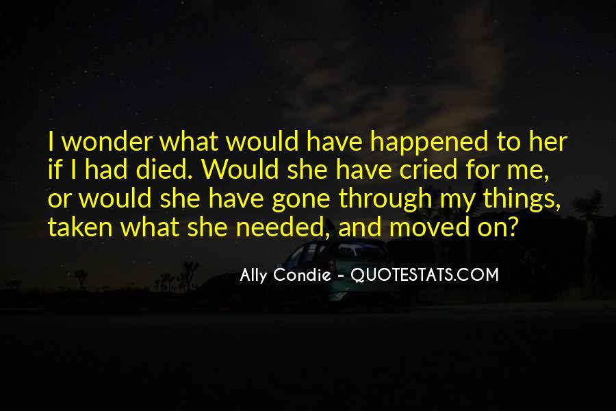 I Wonder If She Quotes #1492155