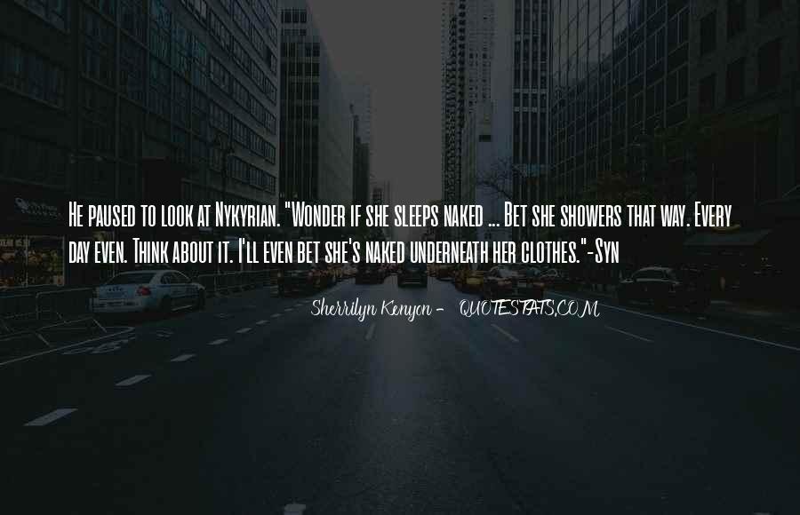 I Wonder If She Quotes #200842