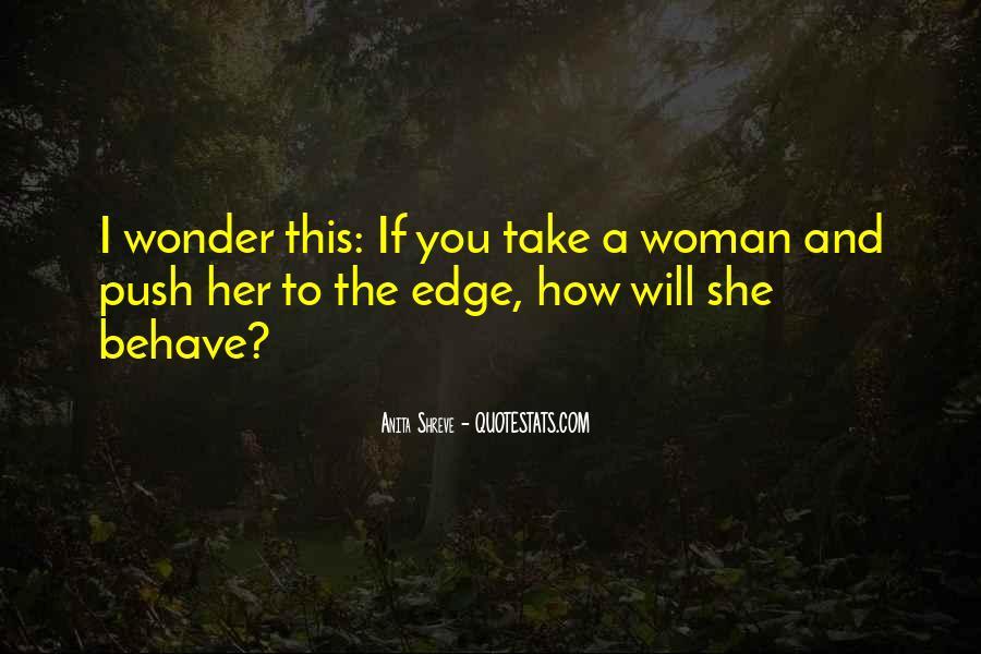 I Wonder If She Quotes #241543
