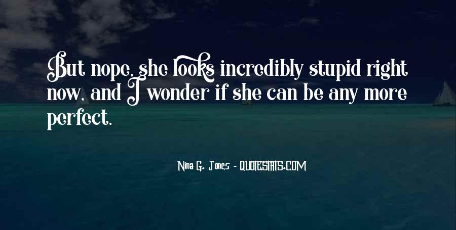 I Wonder If She Quotes #388774