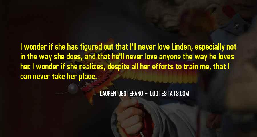 I Wonder If She Quotes #395177