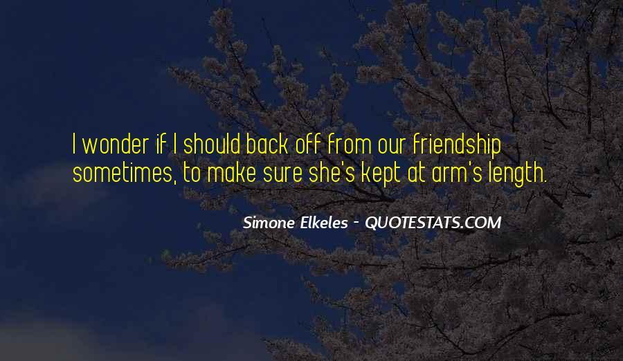 I Wonder If She Quotes #549985