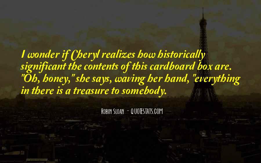 I Wonder If She Quotes #638551