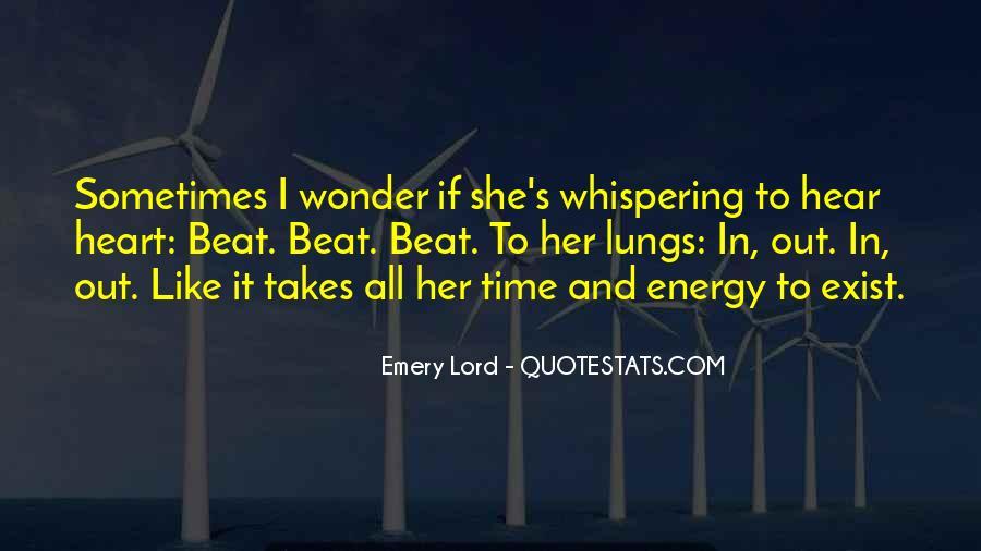 I Wonder If She Quotes #75291