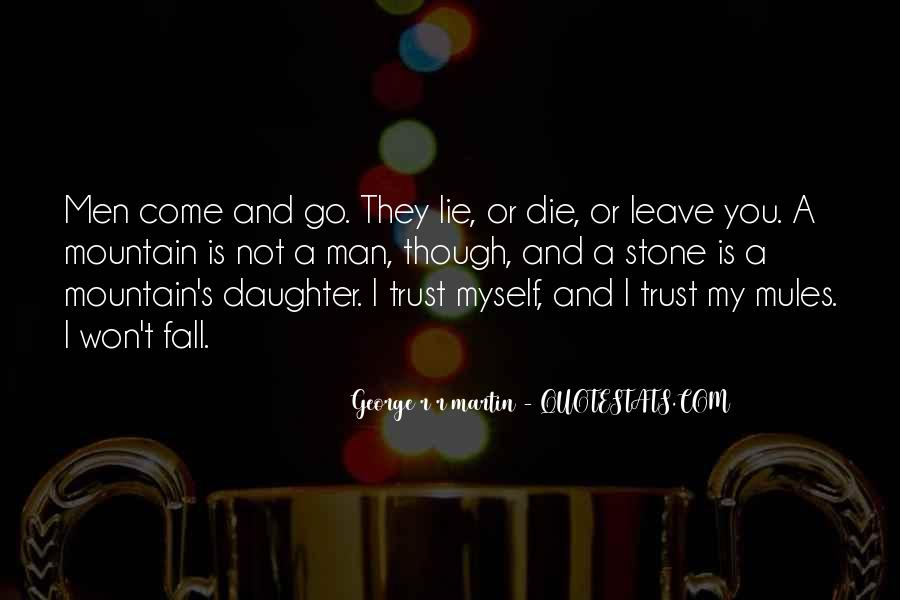 I Would Die For My Daughter Quotes #24802