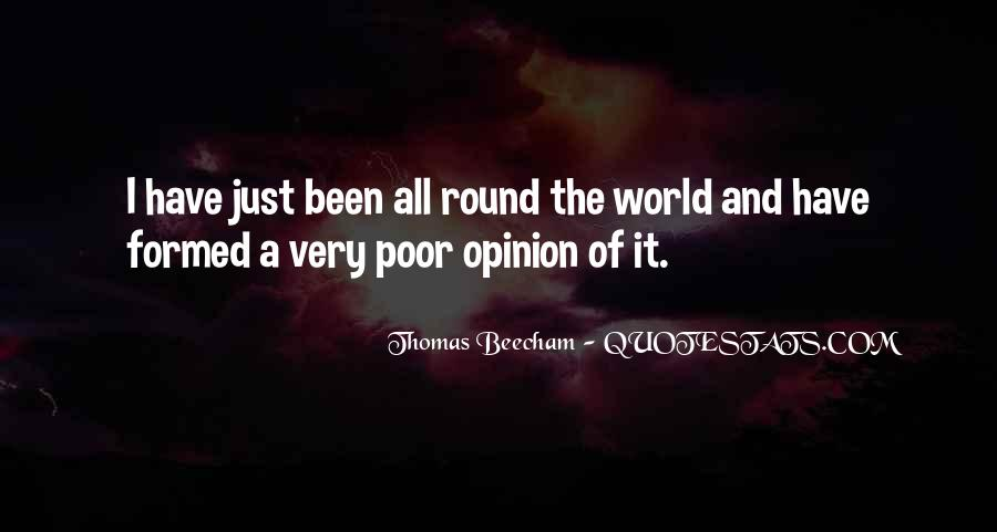 I Would Rather Be Poor Quotes #6247